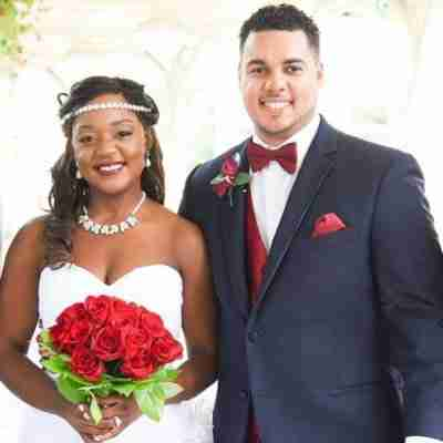 Wedding Couple, Ebony & Lamichael, Charlotte, NC