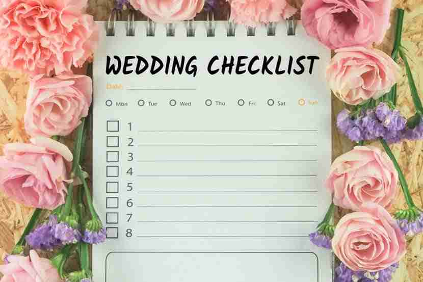Savannah Wedding guide checklist