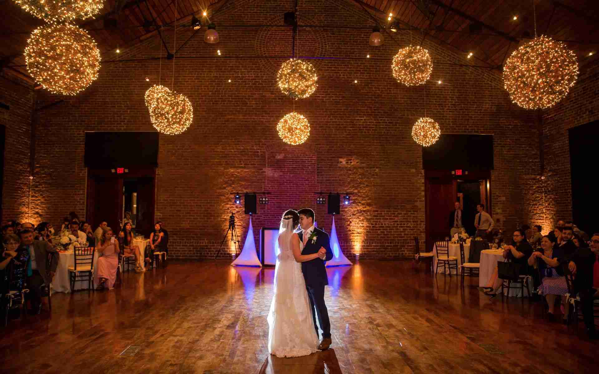 Latin Bride and Groom, First Dance, Charles Morris Center, Savannah, GA