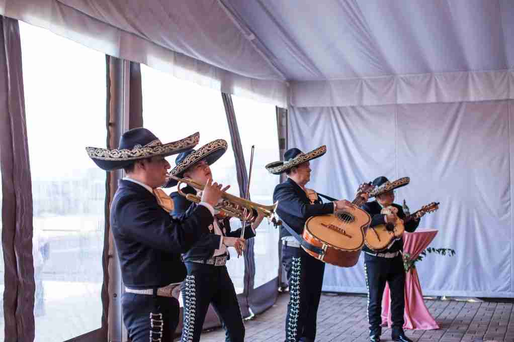 Mariachi Band for Seymour Wedding Reception at Charles H Morris Center Savannah GA