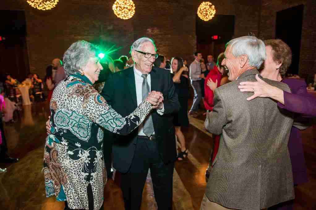 Wedding Guests Dancing, DJ Creativity, Charles Morris Center, Savannah, GA