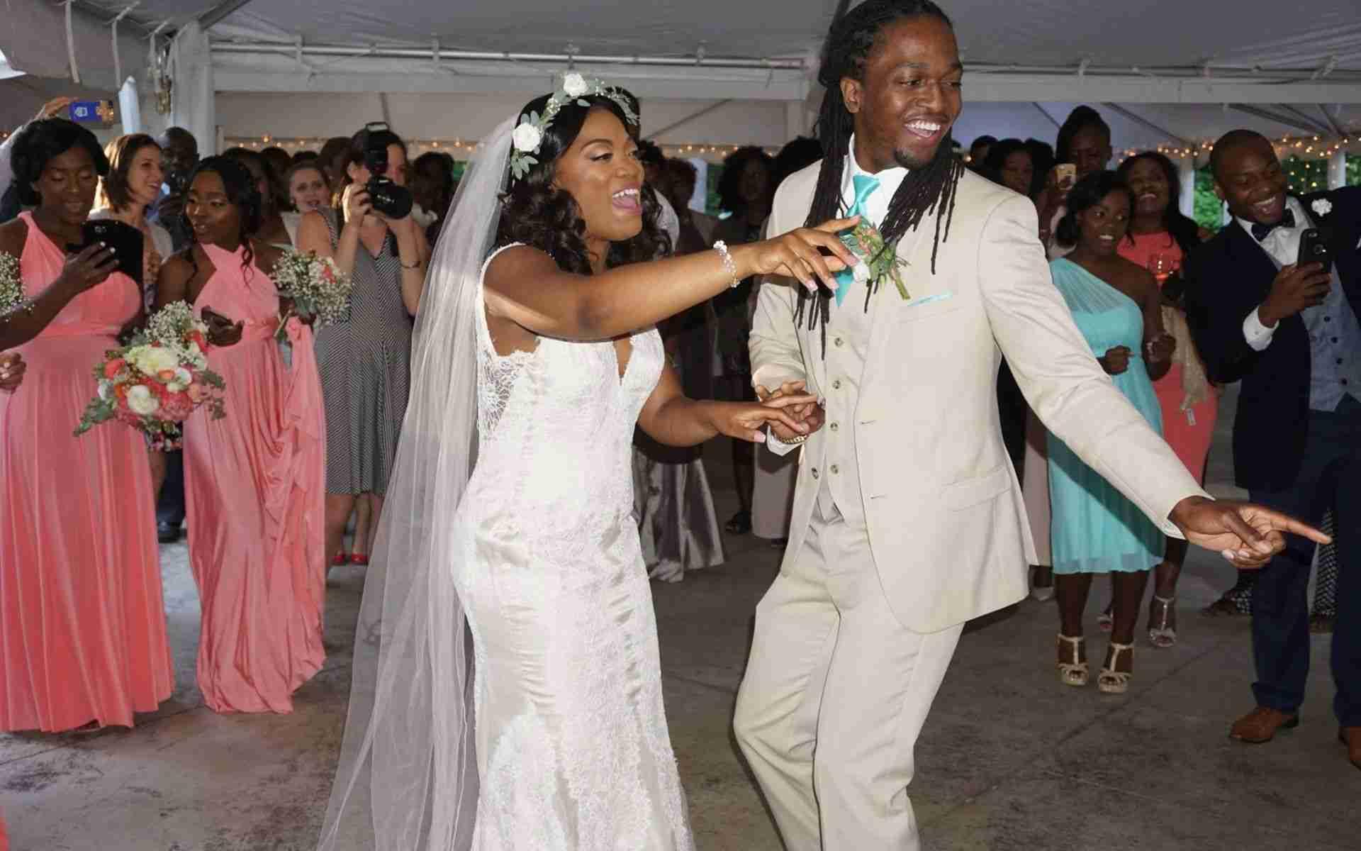 Outdoor Wedding Ceremony and Reception_African-Hatian Wedding Near Savannah GA