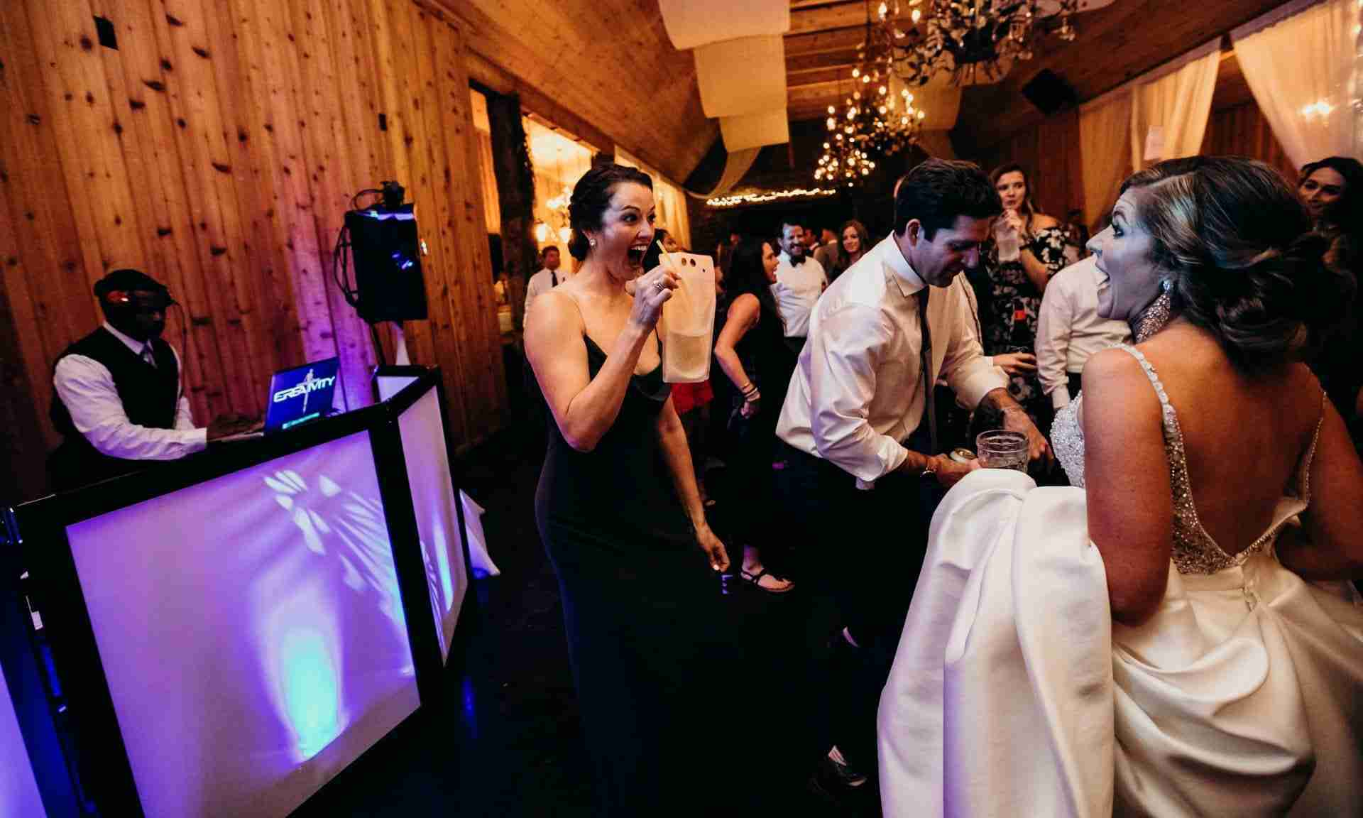 Professional DJ_DJ Creativity_Erin&Danny Wedding Celebration at Twickenham House_Jefferson, NC