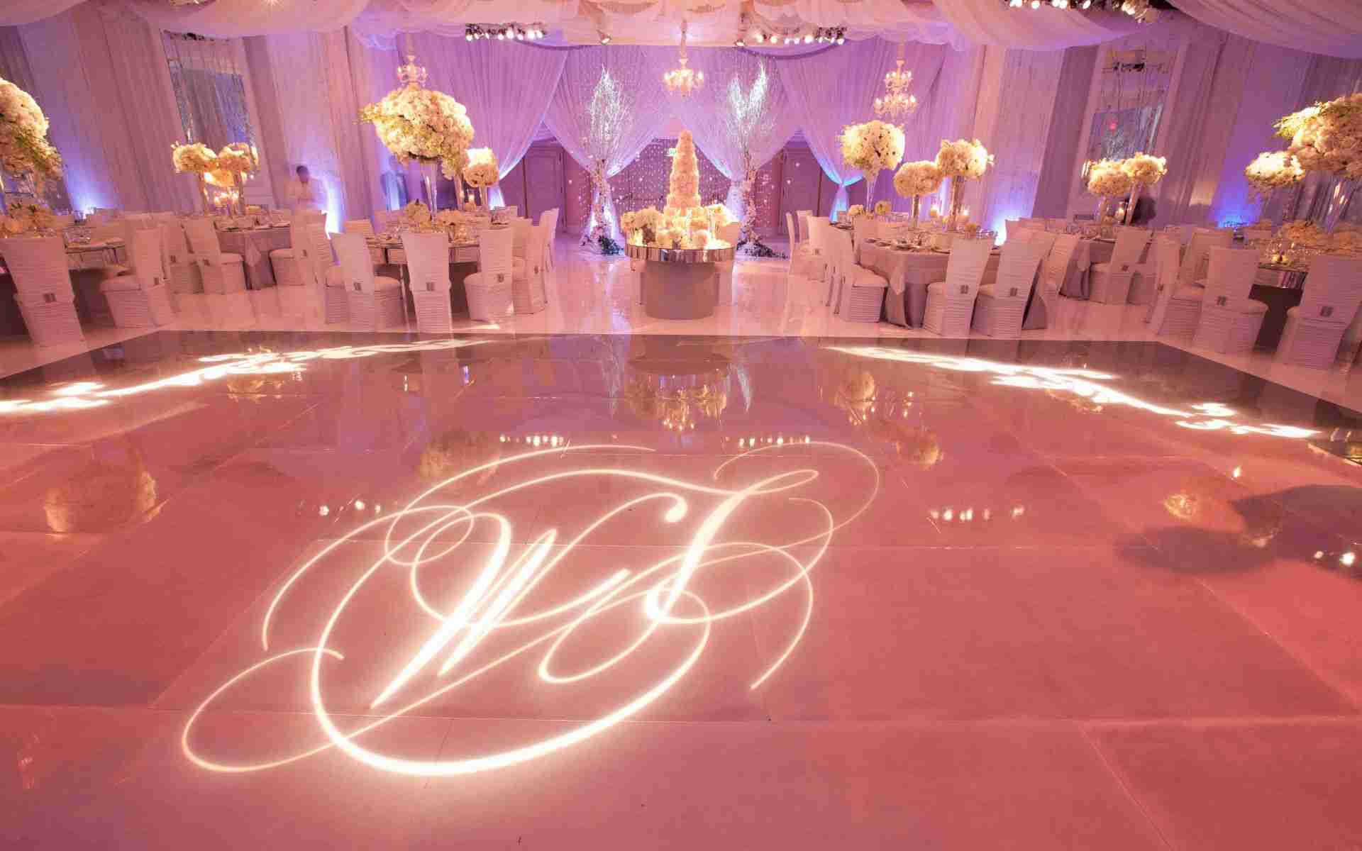 Savannah GA Wedding-Uplight Example_Monogram Example_Lavender