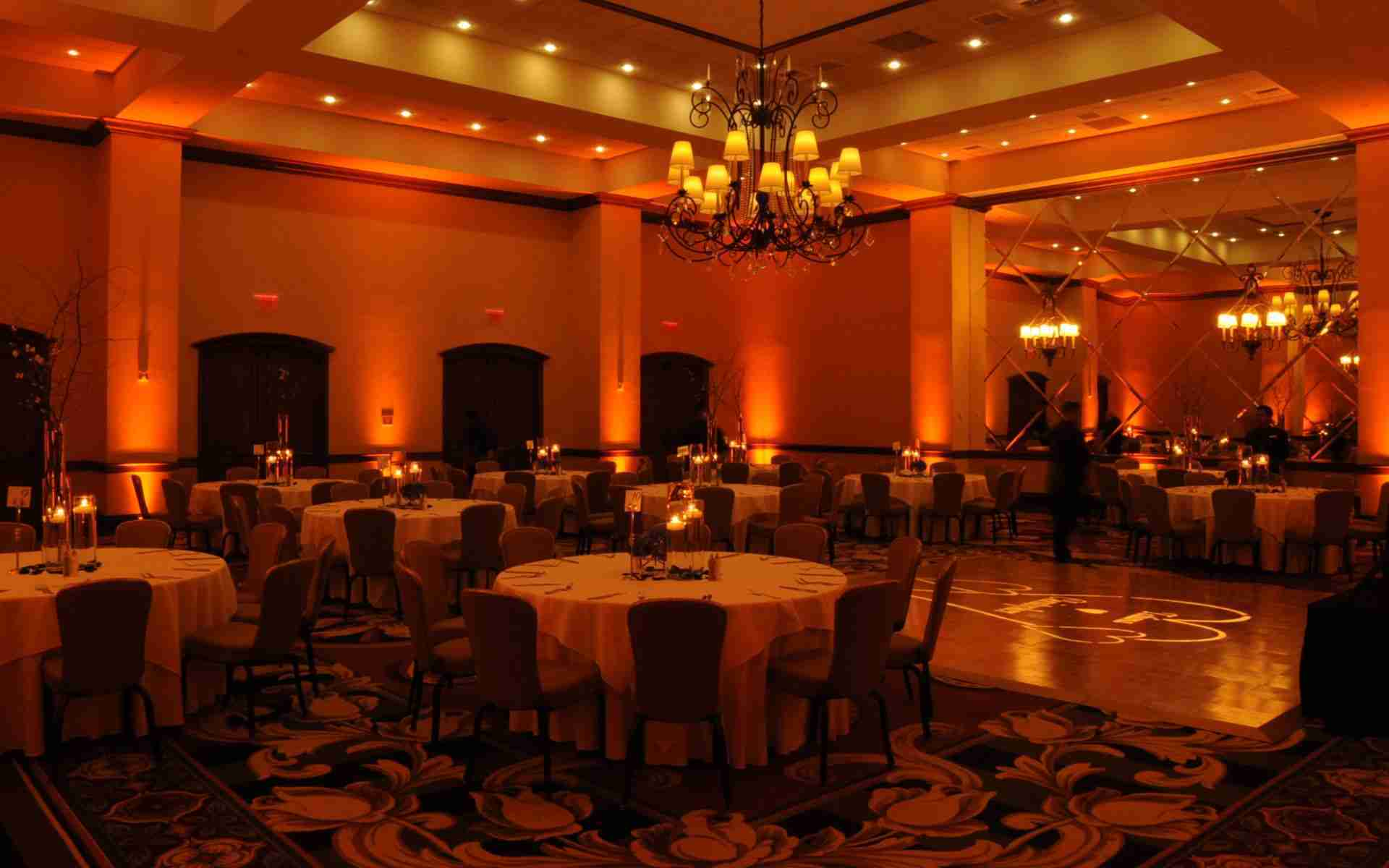 Savannah Wedding DJ_Uplighting Example_Amber