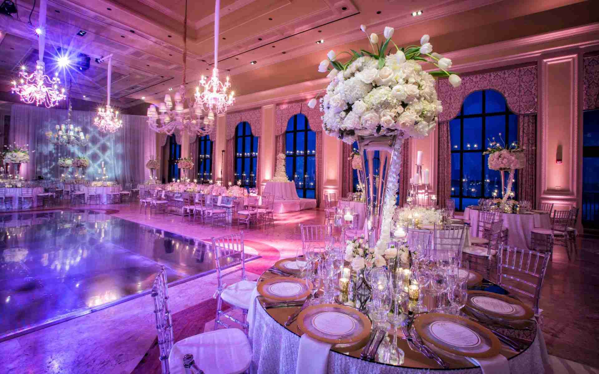 Wedding DJ Savannah GA-Uplighting-pinspots_Example Lavender_Blush_Soft Pink