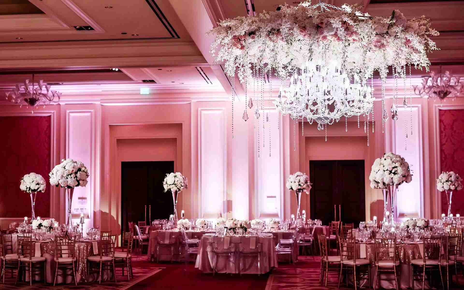 Wedding DJ Savannah GA_Uplighting Example_Pink
