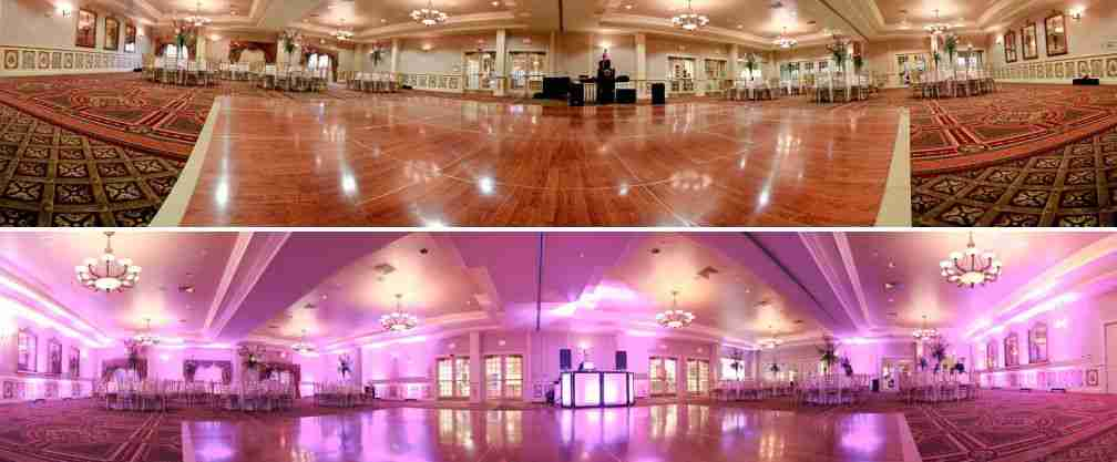 Savannah-wedding-DJ-uplighting-before-and-after