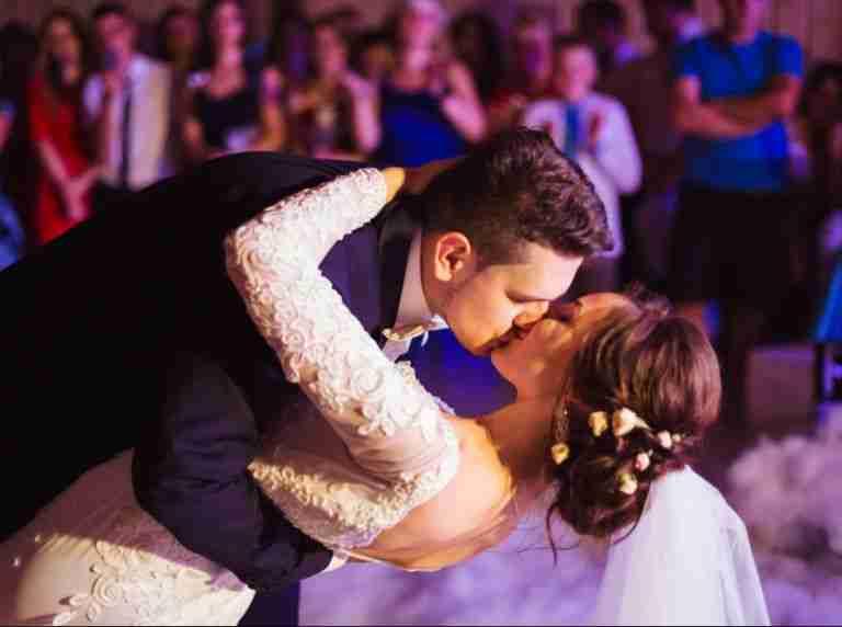 Professional Wedding DJ In Savannah GA_Bride and Groom Fist Dance