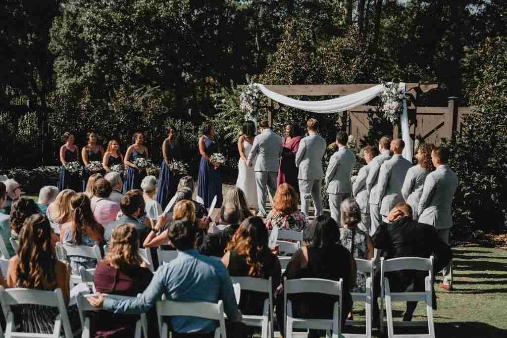 Charlotte Hornets Themed Wedding Ceremony