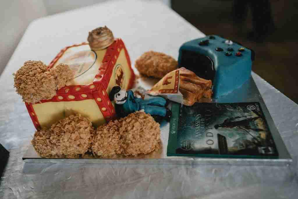 Charlotte Hornets Themed Wedding Ideas_Bojangles