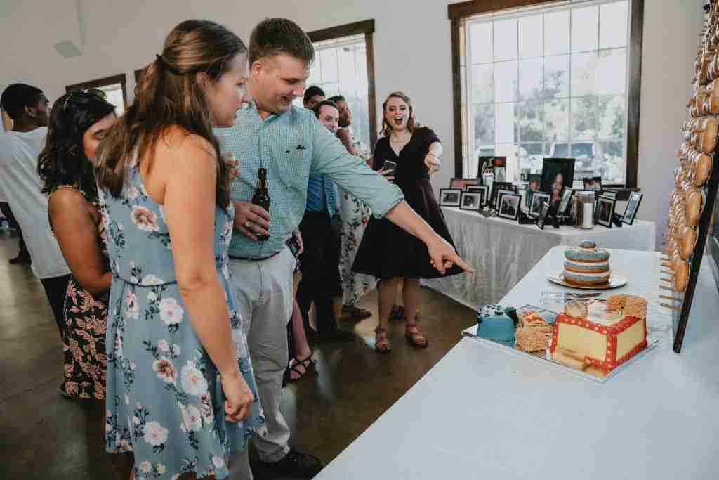 Charlotte Hornets Themed Wedding Ideas_Bojangles_Decor