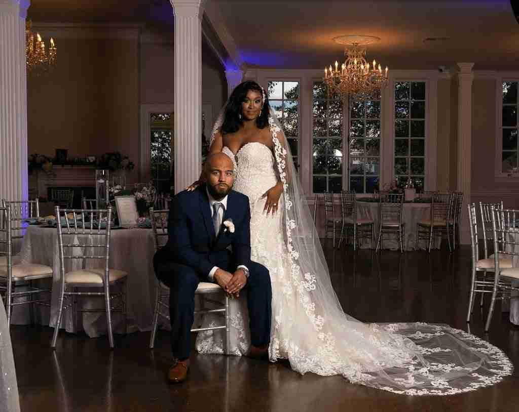 Bride and Goom duting Wedding Reception Decor Reveal_Separk Mansion