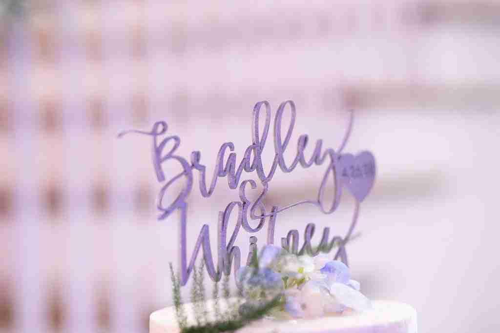 Slate Blue Wedding decor and Flowers