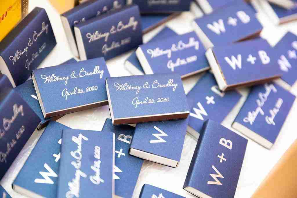 Wedding Favors_Matches for the cigars