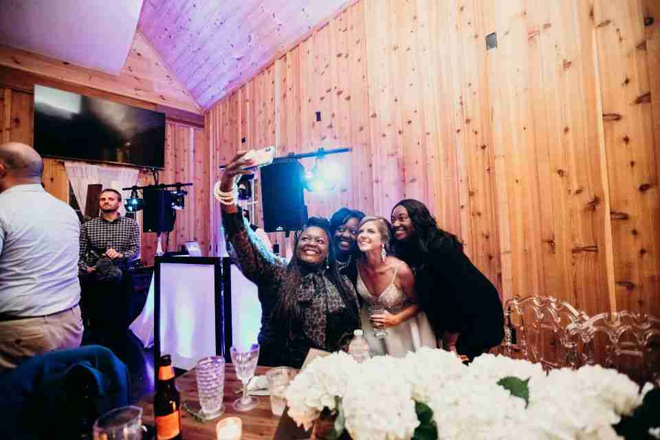 Savannah Wedding DJ_Selfie with Bride