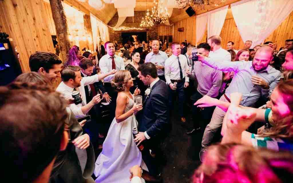 Savannah Wedding Reception DJ_Dance Party with Bride and Groom