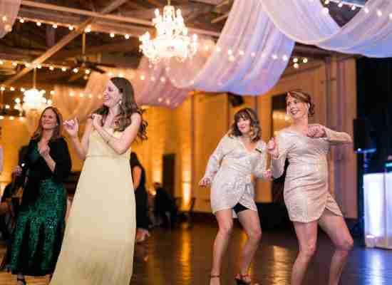 Savannah Wedding Vendors - Guests Dancing at Savannah Station
