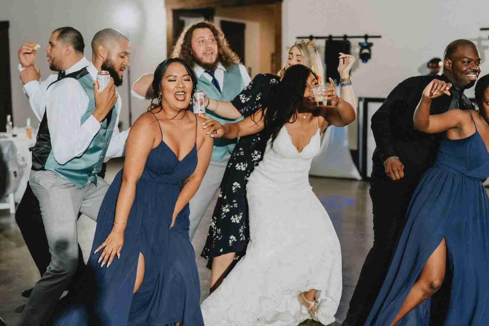 Savannah Ga DJs_Wedding Reception Dance Party with Bride