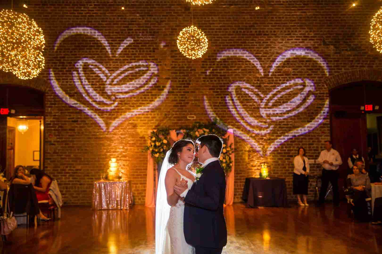 Savannah mobile DJ-service_Wedding Couples First Dance at Charles H Morris Center