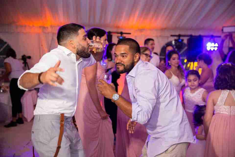 A Beautiful Beach Wedding on Hilton Head Island, SC 2021_Guests Dancing