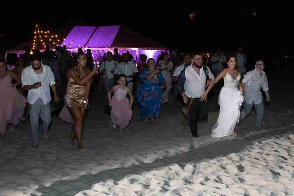 A Beautiful Beach Wedding on Hilton Head Island, SC 2021_Running To The Ocean