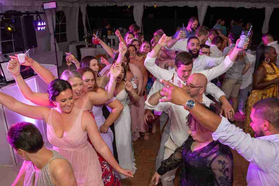 A Beautiful Love Story   Beach Wedding on Hilton Head Island, SC 2021_Dancing at Reception