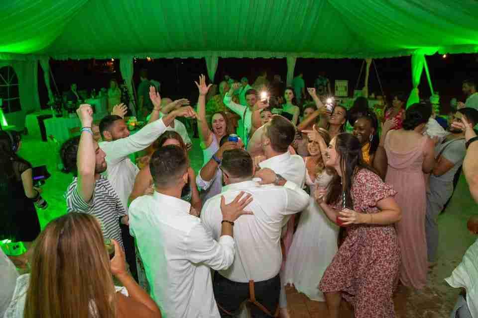 A Beautiful Love Story   Beach Wedding on Hilton Head Island, SC 2021_Wedding Reception