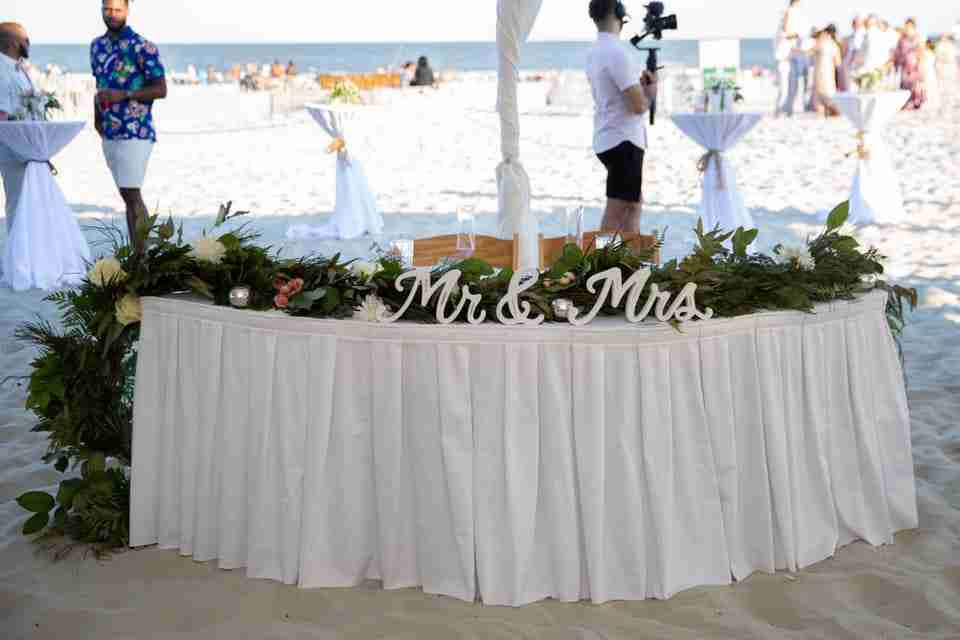 A Beautiful Love Story   Beach Wedding on Hilton Head Island, SC_Decor 2