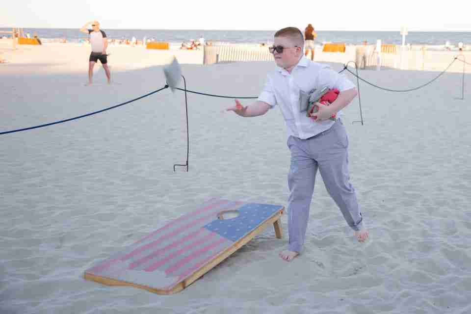 A Beautiful Love Story   Beach Wedding on Hilton Head Island, SC_Games