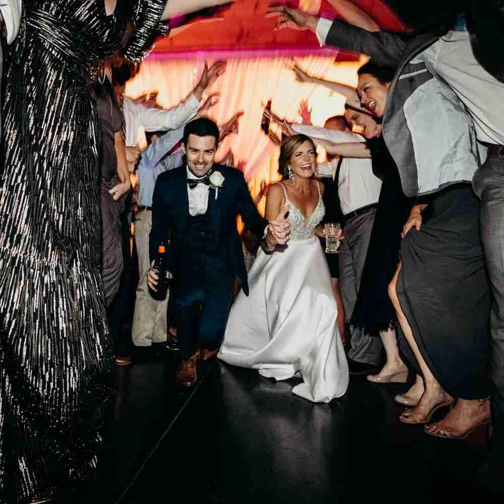 Wedding DJ Jefferson, NC_Bride-Groom Dancing at Twickenham House