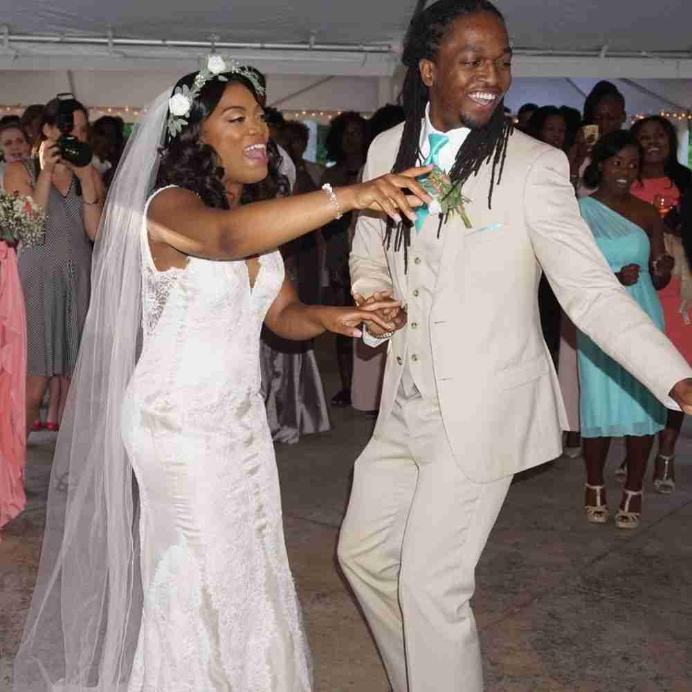 Wedding DJ Monroe, NC_Bride-Groom Dancing at Morning Glory Farm